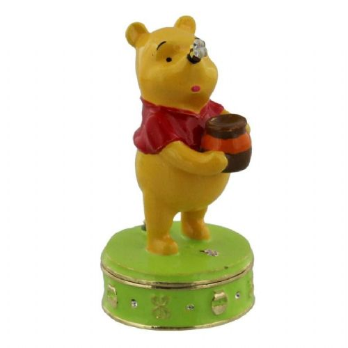 Disney Trinkets Collectable Figures - Winnie The Pooh With Bee - Birthday, Christening and Baby Gift